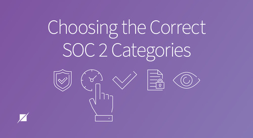 Choosing the Correct SOC 2 Categories