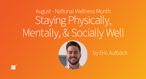 National Wellness Month: Staying Physically, Mentally, and Socially Well