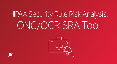 HIPAA Security Rule Risk Analysis: ONC/OCR SRA Tool