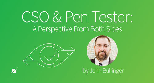 CSO and Pen Tester: A Perspective From Both Sides