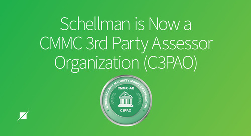 Schellman is Now a CMMC 3rd Party Assessor Organization (C3PAO)