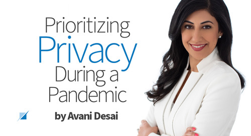 Prioritizing Privacy During a Pandemic