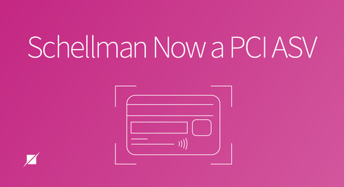 Schellman Now a PCI ASV