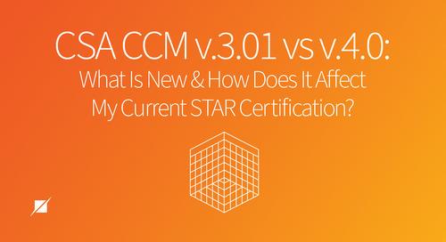 CSA CCM v.3.01 vs v.4.0