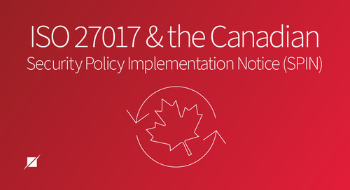 ISO 27017 and the Canadian Security Policy Implementation Notice (SPIN)