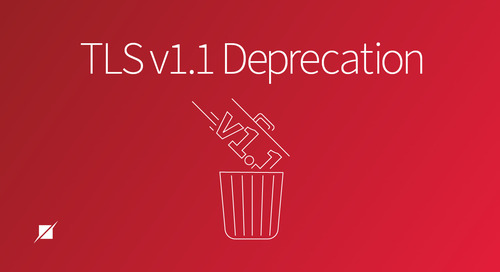 TLS v1.1 Deprecation