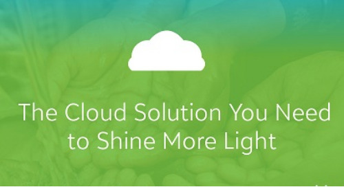DATASHEET: Spark Impact with the Cloud Solution for Nonprofits