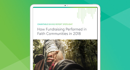 Featured Findings from the 2018 Charitable Giving Report Spotlight for Faith Communities