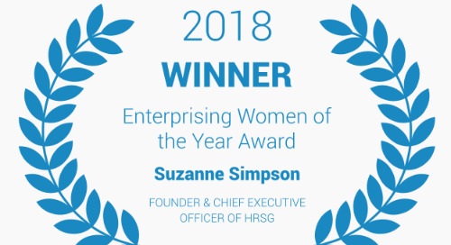 Suzanne Simpson wins 2018 Enterprising Women of the Year Award!