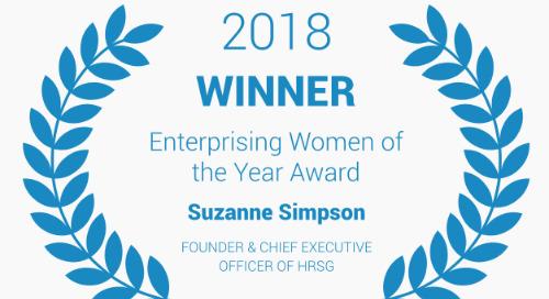 Suzanne Simpson wins 2018 Enterprising Women of the Year Award!
