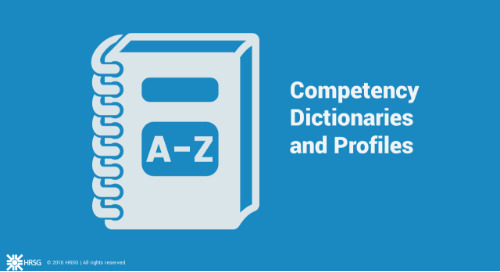 Competency Dictionaries and Profiles