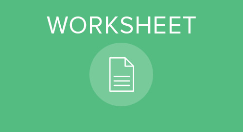 Organizational Planning Worksheet