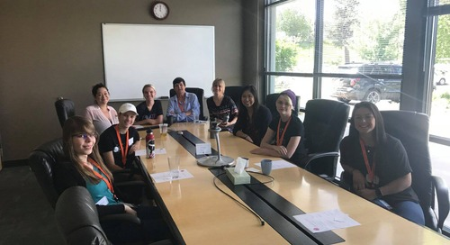 NAVIS Mentors Young Women On Tech Path With Visit From ChickTech
