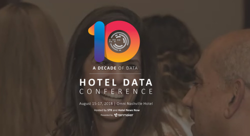 Hotel Data Conference (HDC) 2018 In Review