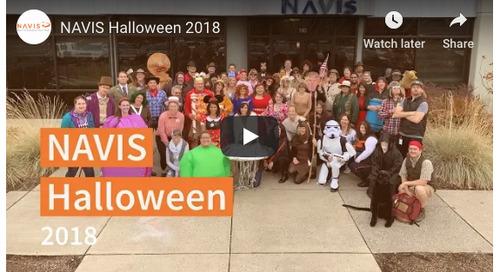 The NAVIS Team Takes Halloween To The Next Level