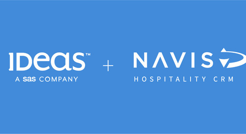 Press release: NAVIS and IDeaS strengthen partnership for hotel CRM, reservations sales & revenue management