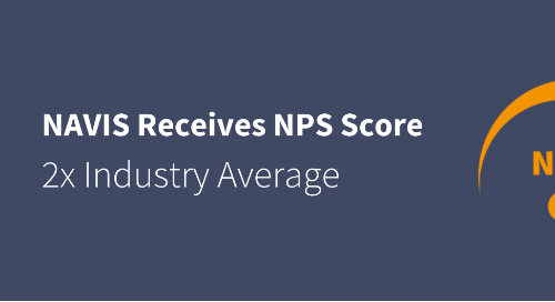 Press Release: NAVIS Achieves Net Promotor Score of 65, Over 2x the Industry Benchmarks