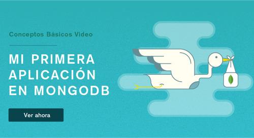 Conceptos básicos. Seminario web 2: Su primera aplicación MongoDB