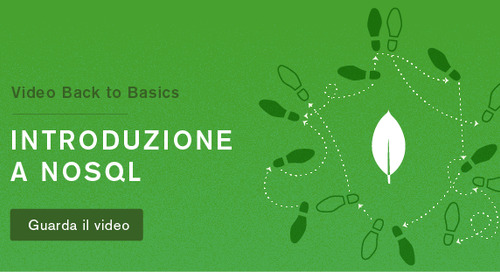 Back to Basics 1 - Introduzione a NoSQL