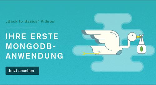 Back to Basics German 2: Ihre erste Anwendung mit MongoDB Uberflip