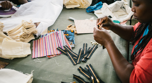 YKK Collaborates with Ubuntu Life on New Line of Bags – 100% of profits to support mothers and children in Kenya
