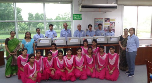 YKK India- Empowering young women through vocational training