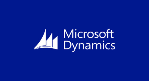 Microsoft Dynamics Integration Walkthrough