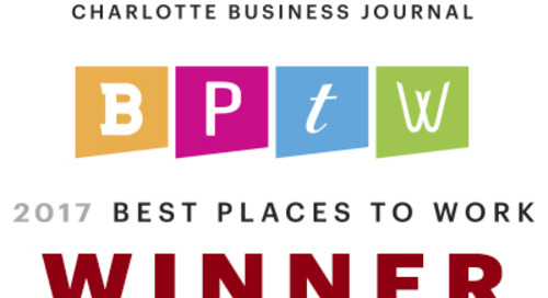 Charlotte Business Journal: PrecisionLender Named 2017 Best Place to Work in Charlotte
