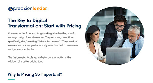 The Key to Digital Transformation: Start With Pricing