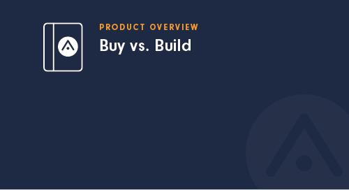 Buy vs. Build