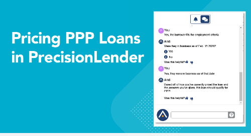 Pricing PPP Loans in PrecisionLender