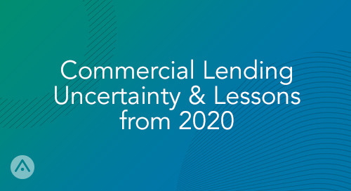 MoneyLive: Commercial Lending Uncertainty & Lessons from 2020