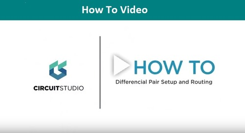 How to Setup and Route A Differential Pair in CircuitStudio