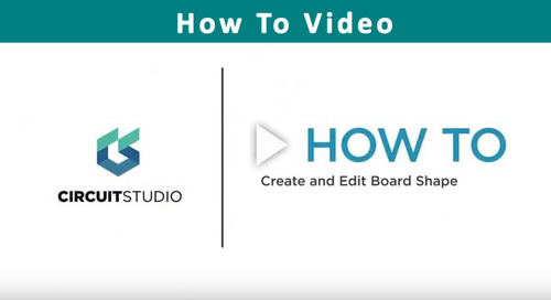 How to Create and Edit Your Board Shape in CircuitStudio