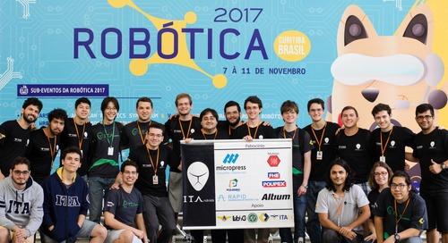 Azevedo, los ITAndroids: Equipo de fútbol robot humanoide