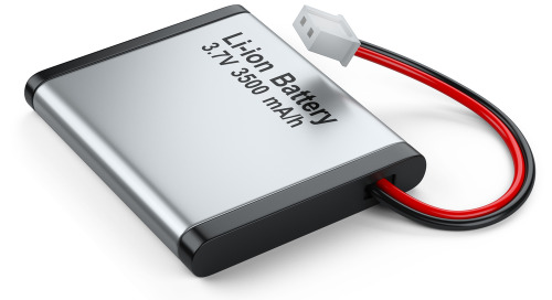 Batteria al litio-ferro-fosfato o ioni di litio per sistemi embedded