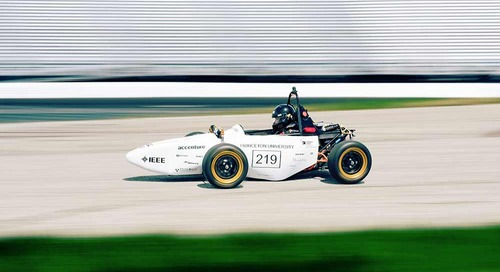 Princeton Racing Electrical Team and the Formula Hybrid Competition