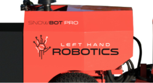 Left Hand Robotics Autonomous Snowbot