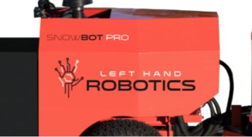 SnowBot, le robot commercial qui révolutionne le déneigement