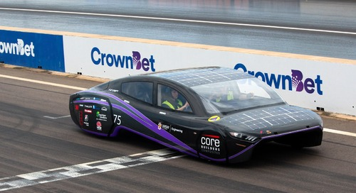 Student-Designed Solar Cars from Down Under