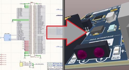 Erstellen eines PCB-Layouts aus einem Schaltplan in Altium Designer