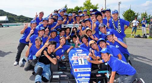 Das Rennteam des Kyoto Institute of Technology will den dritten Sieg