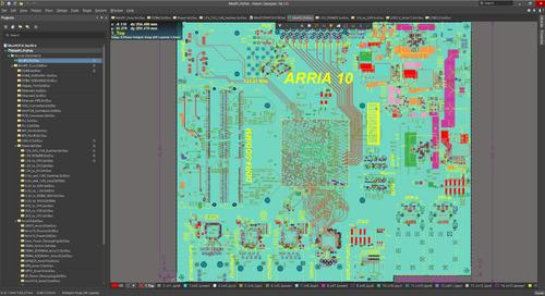 Documentación de Fabricación de Ensamblaje de PCB con Draftsman