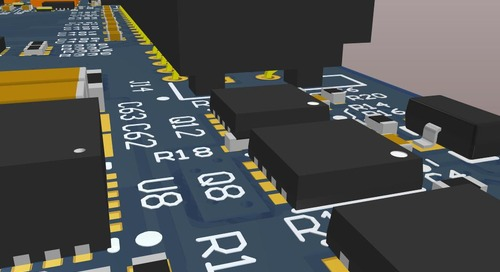 Easily Placed Surface Mount Technology with 3D Viewing Software