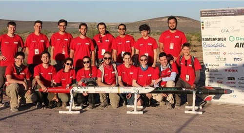 Student Rocket Team Oronos Polytechnique Shoots for the Stars with PCB Designs