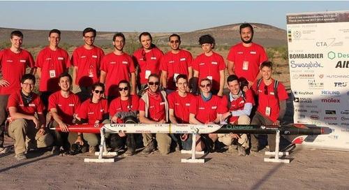 Il team Missilistico dell'Oronos Polytechnique Verso le Stelle con la Progettazione PCB