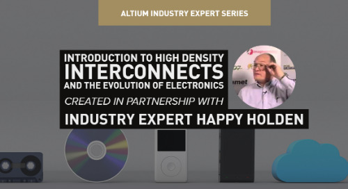 Introduction to High Density Interconnects and the Evolution of Electronics
