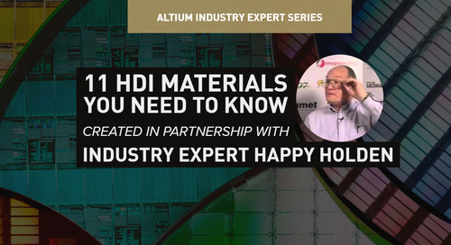 11 HDI Materials You Need to Know