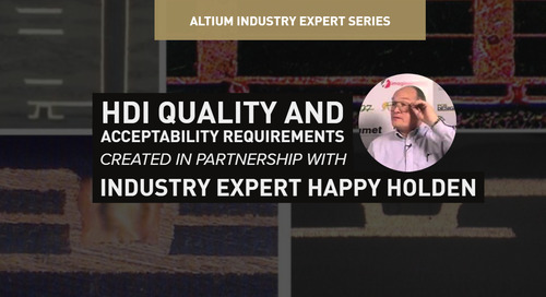HDI Quality and Acceptability Requirements