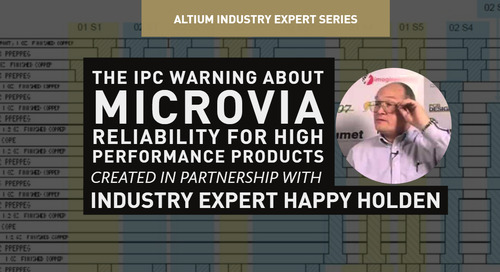 The IPC Warning About Microvia Reliability for High Performance Products